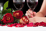 Aspen Limousine Dinner Packages in Minneapolis St. Paul MN Romantic Restaurants Wine and Roses