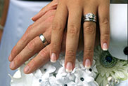 Aspen Limousine Wedding Packages in Minneapolis St. Paul MN Beautiful Wedding Rings and Flowers