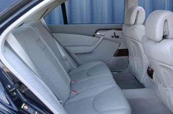 Mercedes Sedan Interior