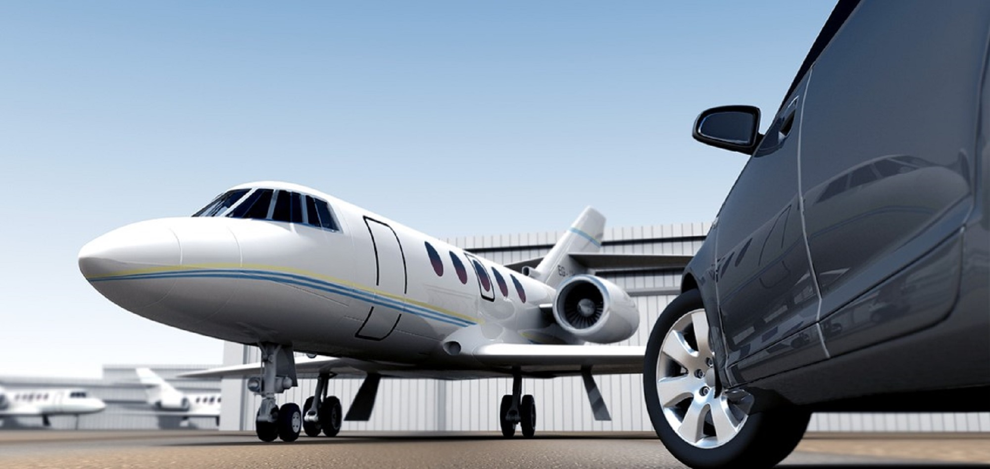 Airport Private Jet Limo