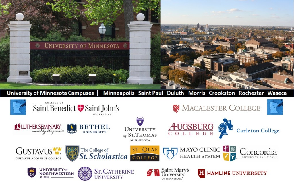 Minnesota Colleges Universities Photos and Logos University of Minnesota Campuses | Minneapolis Saint Paul Duluth Morris Crookston Rochester Waseca