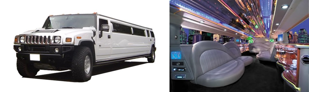 H2 Hummer Limousine Interior Minneapolis Aspen Limo