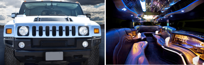 Aspen Limo Twin Cities Minneapolis MN - H2 Hummer Stretch Party Limousine
