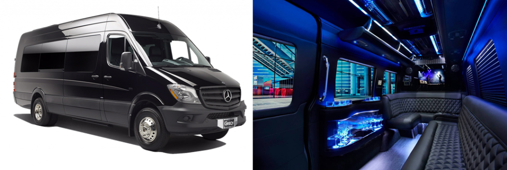 Mercedes Sprinter Limo Party Bus