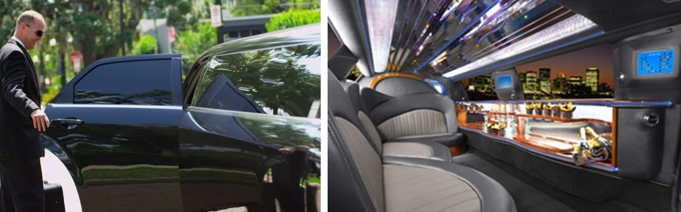 strech limo exterior chauffeur and interior stretch photo minneapolis mn