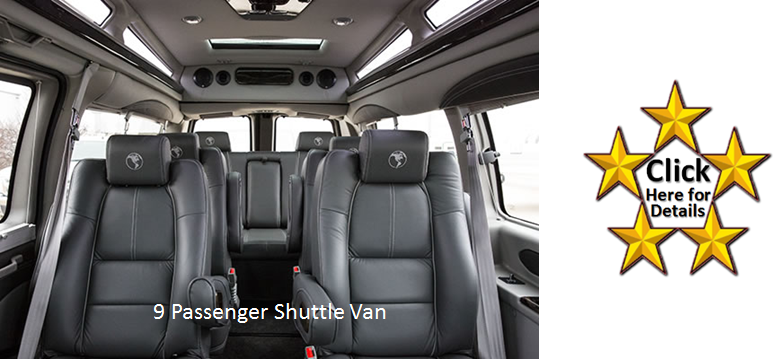 GMC Savana Explorer Shuttle Van- Click Here