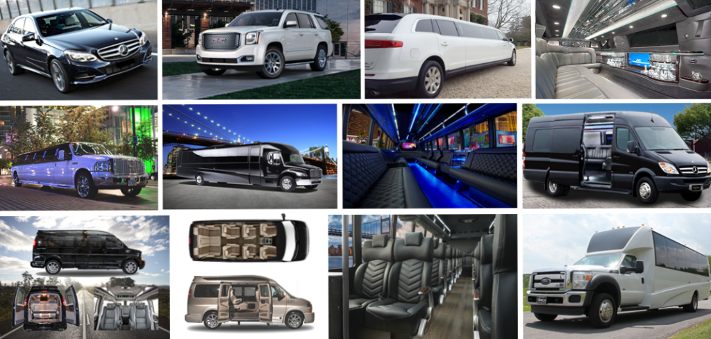 Minneapolis Limo Car Shuttle Party-Bus Photo Montage - Aspen Limo Minneapolis MN