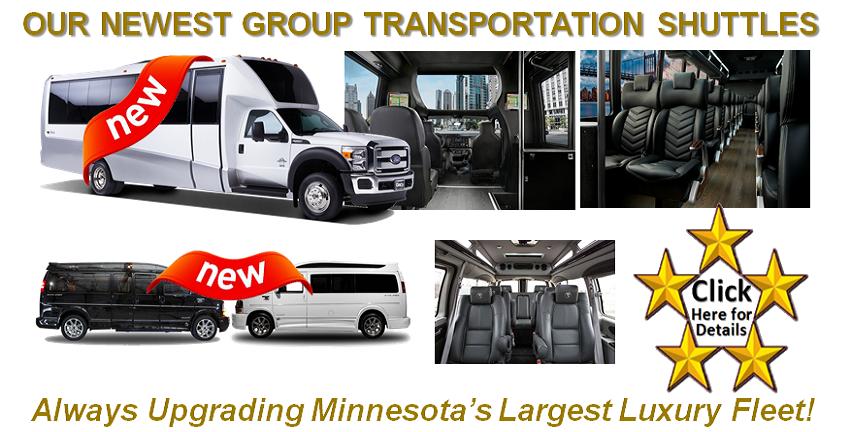 Shuttle and Van Minibuses Minneapolis St Paul MN