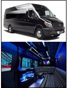 Mercedes Van Party Bus Limo Aspen Limo Minneapolis MN