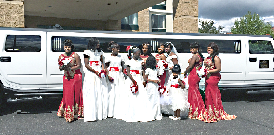Wedding Party H2 Hummer Superstretch Minneapolis / St Paul Minnesota