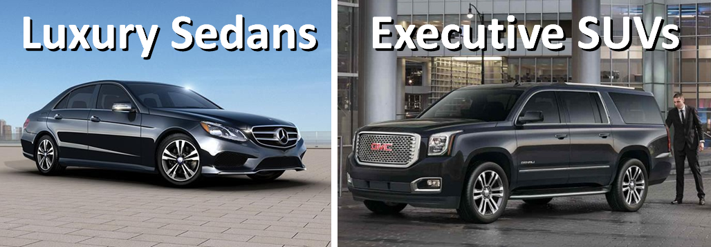 Luxury Minneapolis Airport Car Services and Black Executive SUV MSP Airport Services - Airport Sedans and SUV Photos