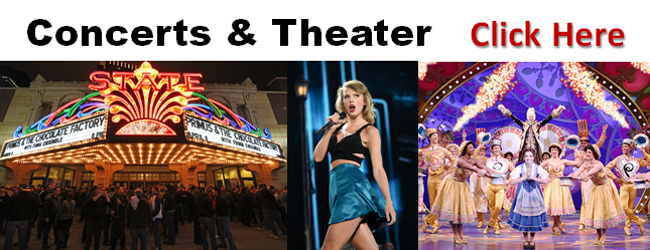 Theater & Concerts Transportation Minneapolis St. Paul MN