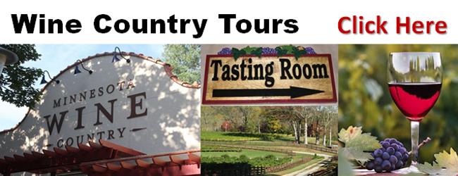 Wine Tours in Minneapolis St. Paul Area