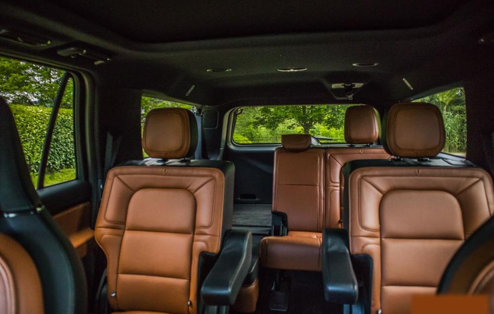 2019 Lincoln Navigator Exterior Black SUVs Dark Orange Interior Car Services Minneapolis MN / St Paul Minnesota