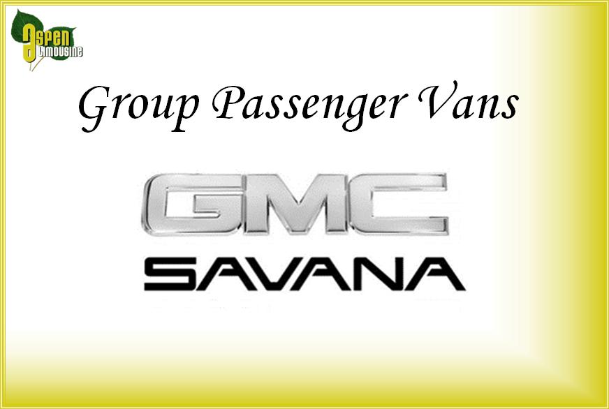 Group Passenger Van Services Minneapolis MN / St Paul Minnesota