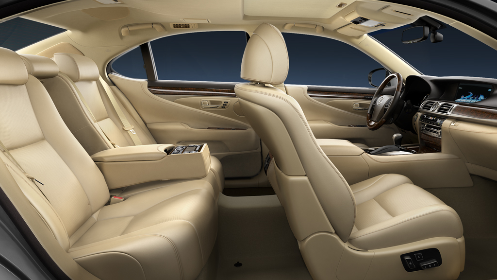 Lexus LS Sedans Car Services Minneapolis MN / St Paul Minnesota Tan Interior View