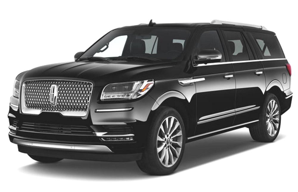 Lincoln Navigator Exterior Black SUVs Car Services Minneapolis MN / St Paul Minnesota