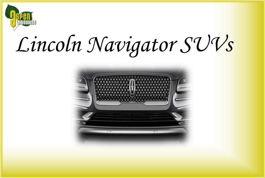 Lincoln Navigator SUVs Car Services Minneapolis MN / St Paul Minnesota