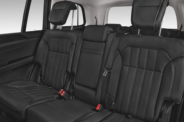 Mercedes GLS-Class SUV Car Services Minneapolis MN / St Paul Minnesota Black Interior Seating