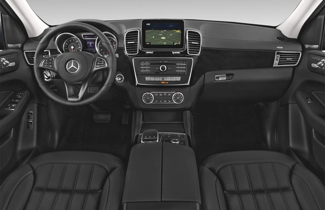 Mercedes GLS-Class SUV Car Services Minneapolis MN / St Paul Minnesota Black Front interior View