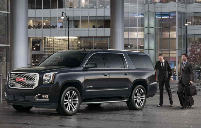 Full-Size Luxury Chauffeured SUV's Limo Rentals Minneapolis / St Paul / MN - Yukon Denali