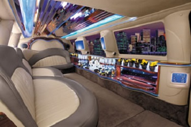 SUV Stretch Limo Services Minneapolis MN / St Paul Minnesota Interior Limo Environment