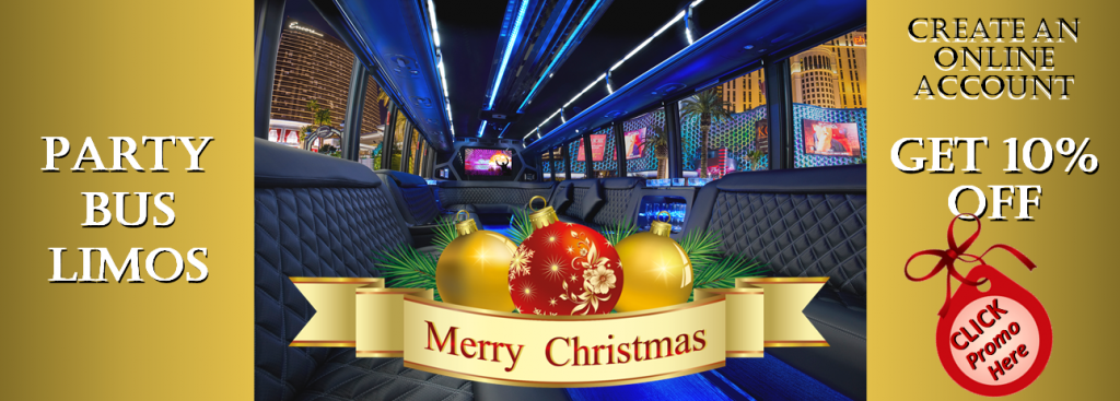 Christmas Holiday Party Bus Rentals Minneapolis / St Paul Minnesota