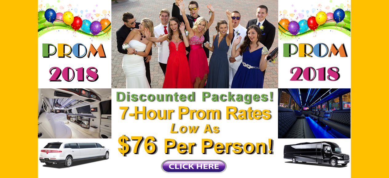 Minnesota Prom 2018 Limo Deals Prices Party Bus Discounts Minneapolis-St Paul MN