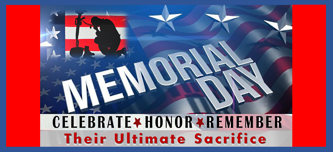 Memorial Day Banner Limo Party Bus Services Minneapolis MN