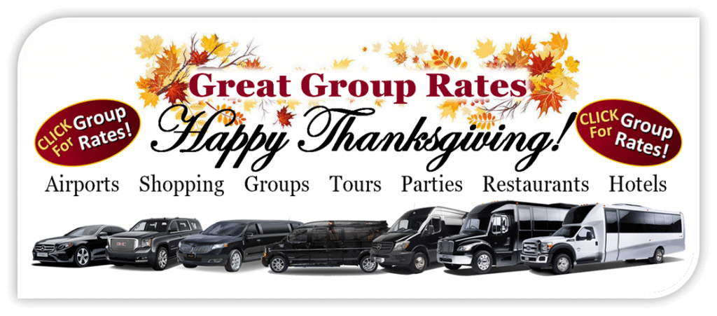 Aspen Limo and Car Services - Great Holiday Thanksgiving Group Rates