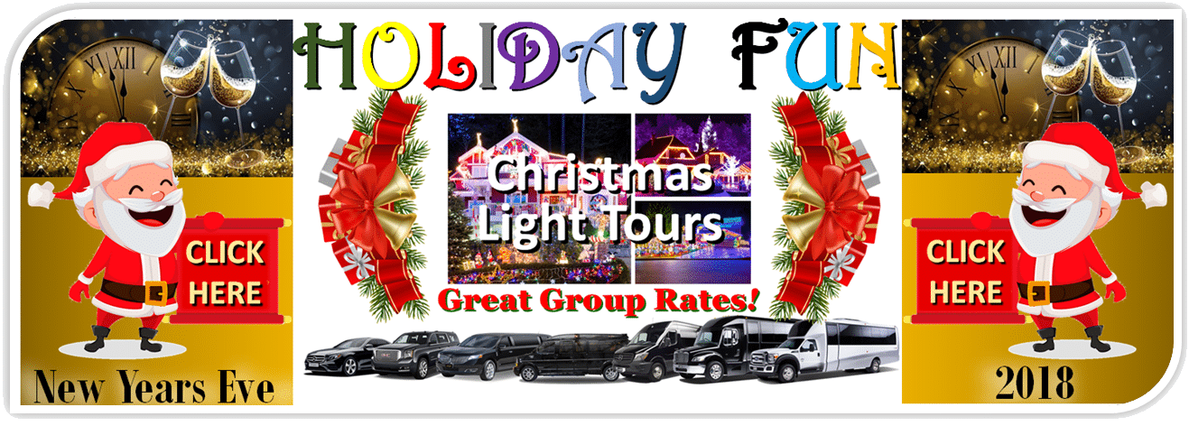 Minneapolis MN - Limos Party-Buses - Christmas Lights Tours - New Years Eve Transportation