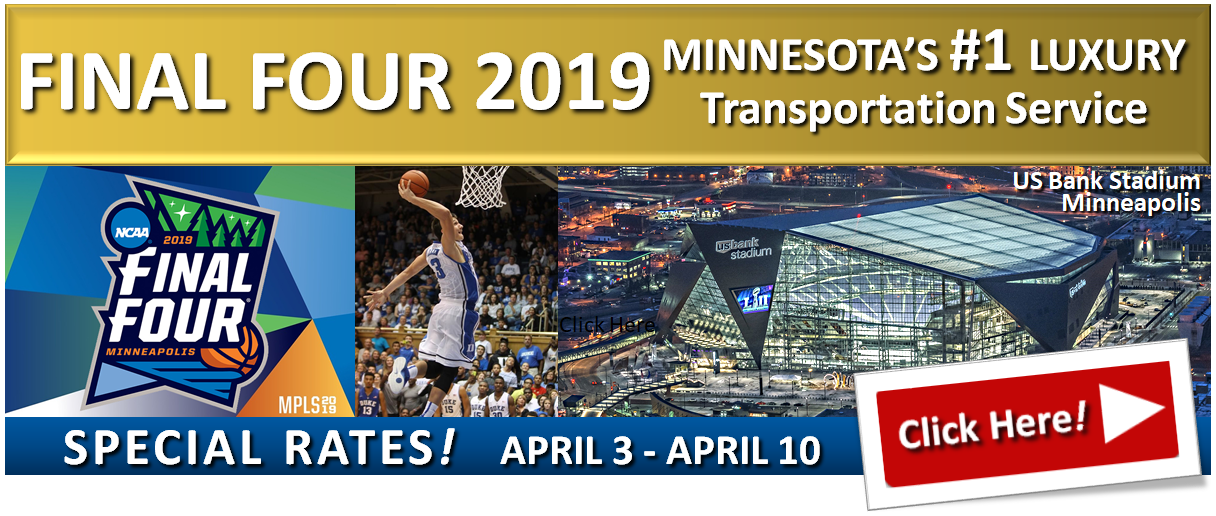 Website Banner NCAA 2019 Final Four Minneapolis