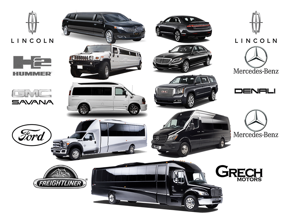 Aspen Limo Photos of Largest MN Fleet | Photos of Luxury Limos, Cars, SUVs, Vans, Party Bus Limos and Shuttle Buses in Minneapolis Minnesota