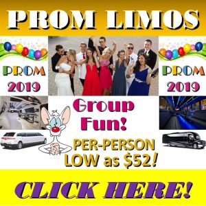 Prom Limo Deals - Prom Limo Cheap Group Rates - Footer Ad Minneapolis St Paul MN