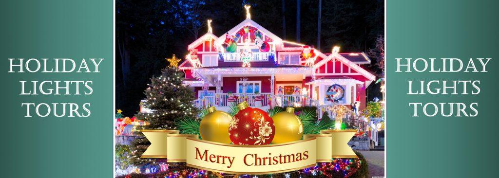 Holiday Lights Tours Limo Shuttle-Bus Group Vans Christmas Lights Tours Minneapolis St Paul Twin Cities Minnesota