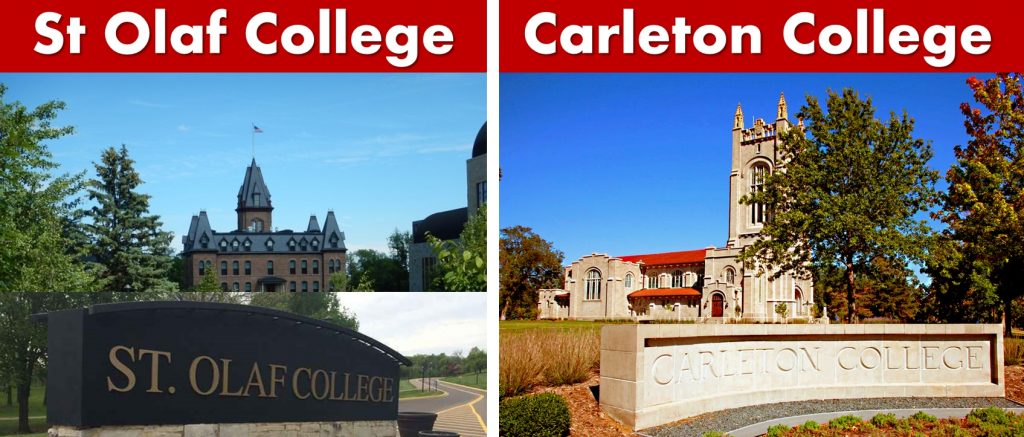 Northfield MN-St Olaf College-Carleton College-Photos