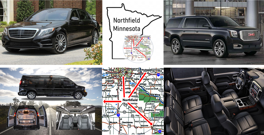 Northfield Minnesota Car SUV and Shuttle Services Luxury Vehicles