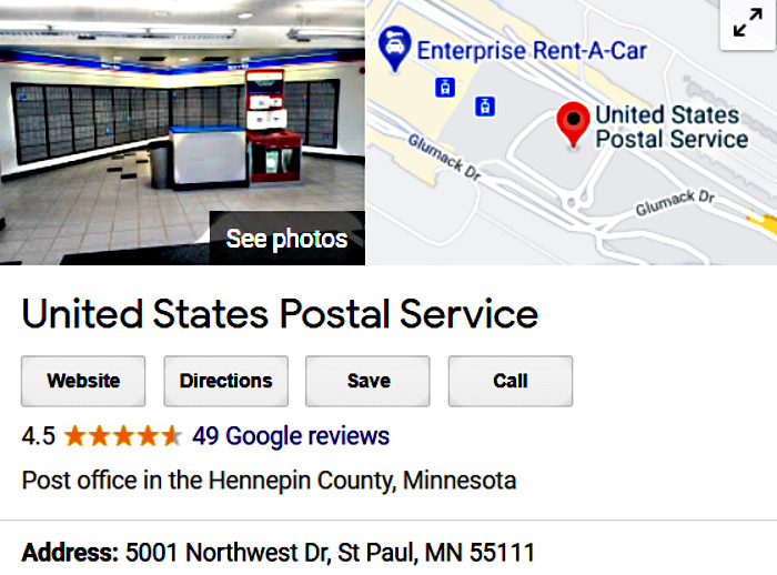 Airport Mail Location Pickup Aspen Limo and Car Services Minnesota MN