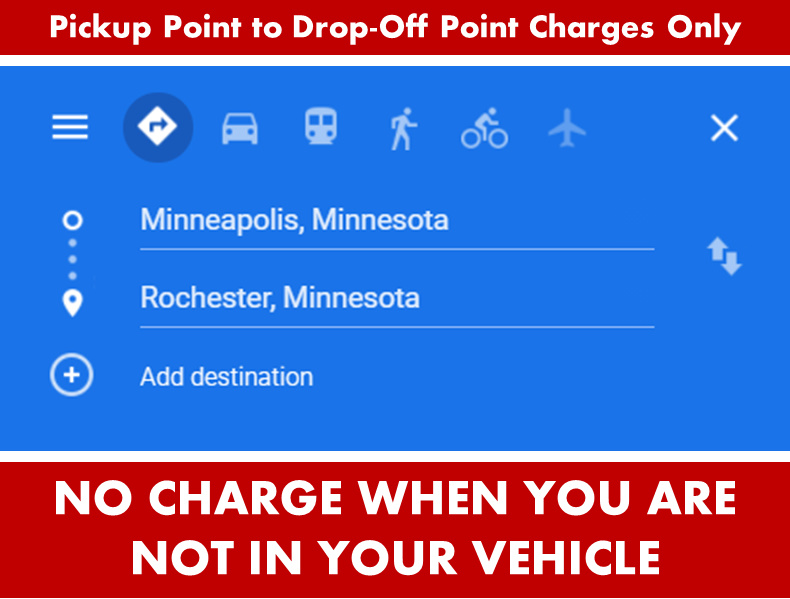 Rochester Minnesota - Car Limo SUV Van Shuttle Party Limo Transportation From Aspen Limo Minneapolis to Rochester MN