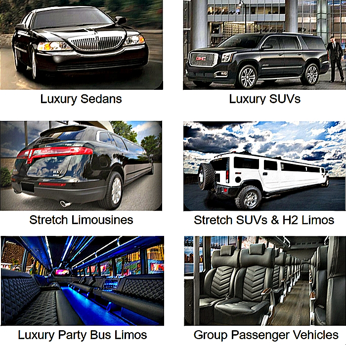 Vehicle Categories - Aspen Limo and Car Services - Minneapolis MN