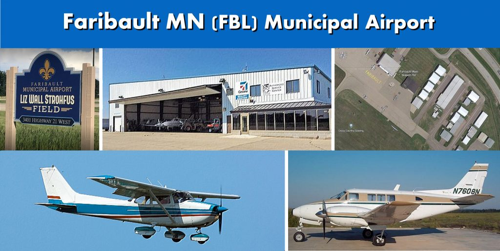 Faribault MN FBL Municipal Airport Photo Montage