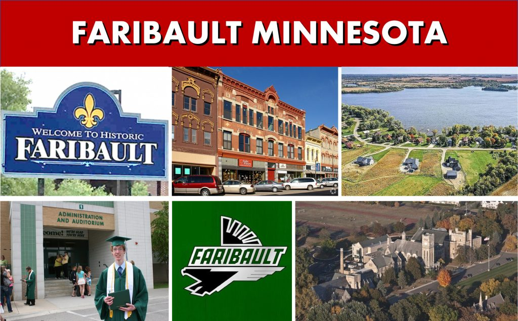 Faribault Minnesota Transportation to Minneapolis MN and Private Car Services Minneapolis to Faribault MN - SUV Van Shuttle Bus Transportation - Photo Montage