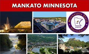 Mankato to Minneapolis and Minneapolis to Mankato Photo Montage - Private Car Services - SUV Van Shuttle Bus Transportation