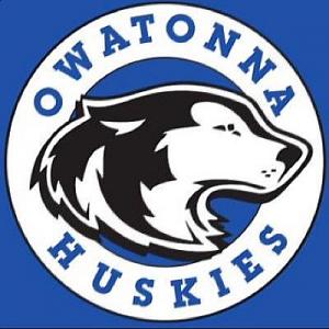 Owatonna High School Sports Logo - Huskies