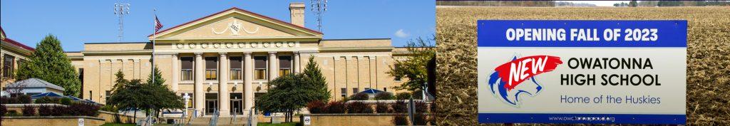 Owatonna Historic High School Building 2020 Panoramic Image