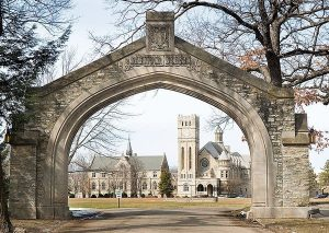 Shattuck-St. Mary's Preparatory Borading School Faribault MN Arch Entry to Campus Photo