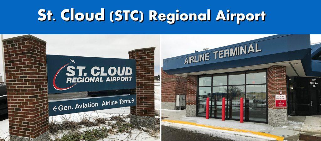 St. Cloud MN (STC) Regional Airport Serving the Saint Cloud Minnesota Area Exterior Terminal Images