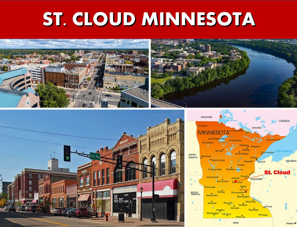 St. Cloud Minnesota MN Photo Montage Website Page Banner