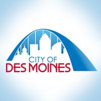 Des Moines IA Iowa City Logo Image
