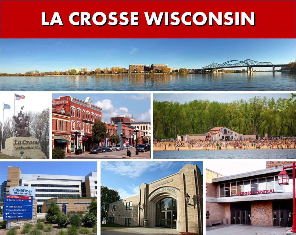 La Crosse WI Area Photo Montage